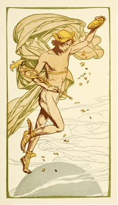 Mercury In Libra: The Art Nouveau Mercury!