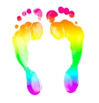 RainbowFootprints